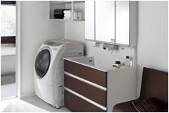 洗面スペースクリーニング